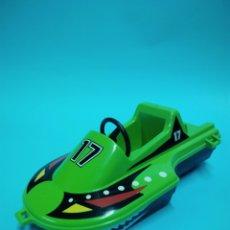 Playmobil: PLAYMOBIL 3041 LANCHA VERDE SERIGRADA 17 JEEP PIEZA REPUESTO 3371 7656 PLAYMOVIL 30672510. Lote 178373081