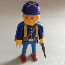 Playmobil: PLAYMOBIL FIGURA SOLDADOR FUERTE NORDISTA OESTE WESTERN PIEZAS. Lote 64434223