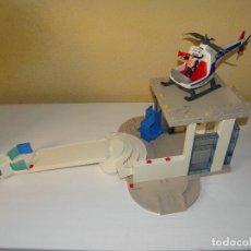 Playmobil: TERMINAL DE AEROPUERTO Y HELICOPTERO DE PLAYMOBIL. Lote 64481755