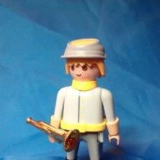 Playmobil: PLAYMOBIL PERSONALIZADO CORNETA CABALLERÍA SUDISTA,DRAGÓN SUDISTAS, NORDISTAS, OESTE WESTERN. Lote 134096299