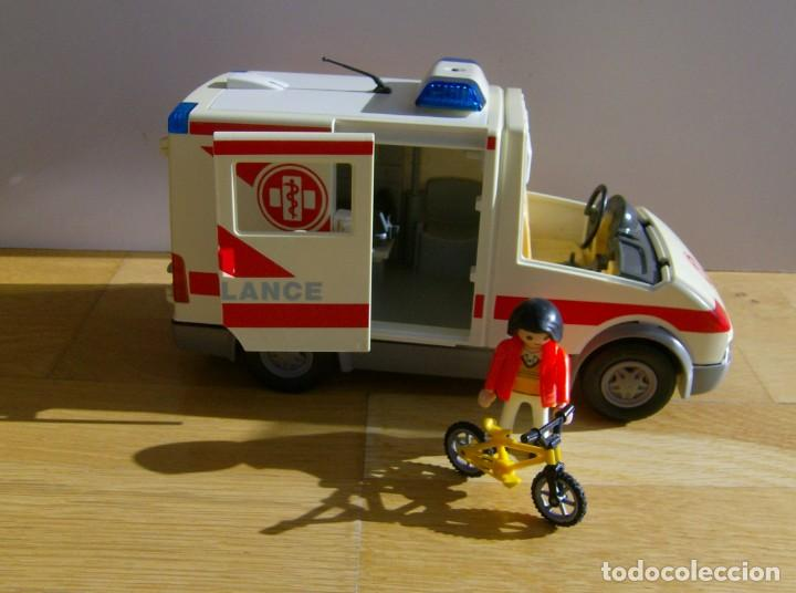 PLAYMOBIL AMBULANCIA (Juguetes - Playmobil)