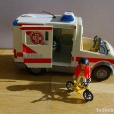 Playmobil: PLAYMOBIL AMBULANCIA. Lote 64604067