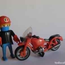 Playmobil: FAMOBIL. MOTORISTA DE CARRERAS.. Lote 66158274
