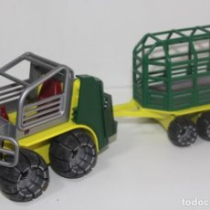 Playmobil: PLAYMOBIL MEDIEVAL VEHICULO CON REMOLQUE. Lote 68970465