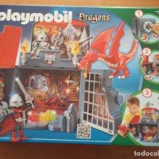 Playmobil: P0008 - PLAYMOBIL 5420 COFRE GUARIDA DEL DRAGON. Lote 69245017