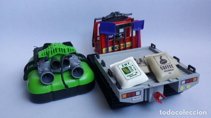 Playmobil: LOTE PLAYMOBIL VEHICULO ORUGA Y HOVERCRAFT COCODRILO. - Foto 2 - 69594477