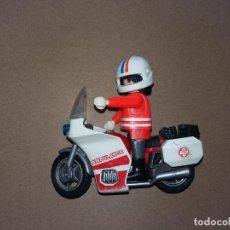 Playmobil: P0014 - PLAYMOBIL SOCORRISTA EN MOTO. Lote 69914845