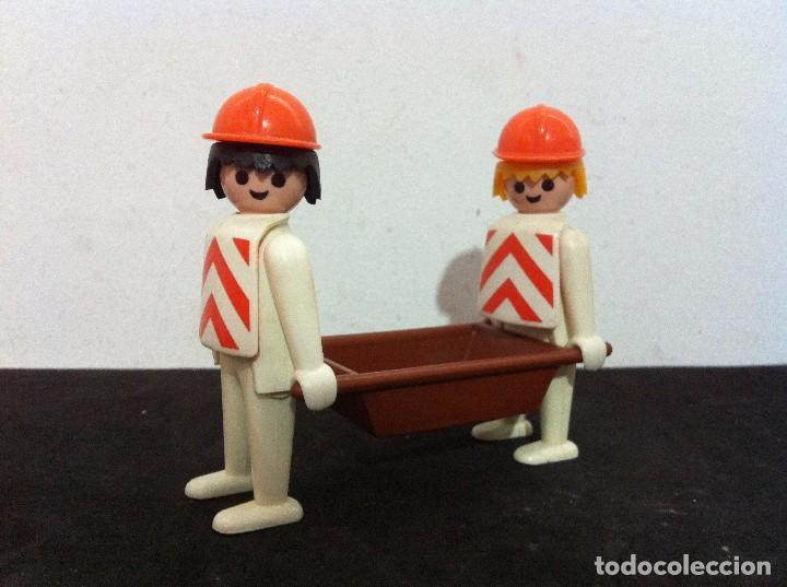PLAYMOBIL. OBREROS DE CONSTRUCCION. (Juguetes - Playmobil)