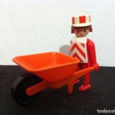 Playmobil: PLAYMOBIL. OBREROS DE CONSTRUCCION.. Lote 71109357