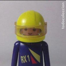 Playmobil: PLAYMOBIL FIGURA PILOTOS CARRERAS MOTOS CIUDAD (ZCETA). Lote 71143945