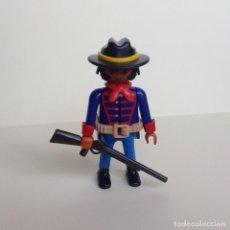 Playmobil: PLAYMOBIL DEL OESTE SOLDADO DE LA UNIÓN (01). Lote 110061192