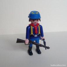 Playmobil: PLAYMOBIL DEL OESTE SOLDADO DE LA UNIÓN (02). Lote 110061223