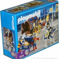 Playmobil: PLAYMOBIL - CARRUAJE TRANSPORTE DEL TESORO REF. 3314 NUEVO PRECINTADO DESCATALOGADO !!!. Lote 71637299