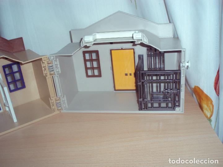 Casa maletin sheriff bank playmobil comprar playmobil en for Casa maletin playmobil