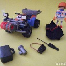 Playmobil: PLAYMOBIL QUAD CON ACCESORIOS. Lote 75085311