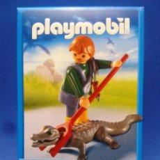 Playmobil: PLAYMOBIL 4465, ZOO, CIUDAD, ÁFRICA, CUIDADOR DE CAIMANES,CAJA NUEVA A ESTRENAR, DESCATALOGADO. Lote 87419375