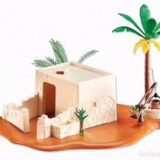 Playmobil: PLAYMOBIL 6485 CASA EGIPCIA HISTORY EGIPTO BELÉN NAVIDAD CHRISTMAS ROMA EGYPT NUEVA BOLSA SELLADA. Lote 111149246