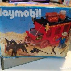 Playmobil: DILIGENCIA CARAVANA DEL OESTE DE PLAYMOBIL REF. 3245 DE 1984. Lote 75795107
