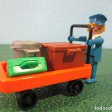 Playmobil: PLAYMOBIL-VINTAGE-REF-3323-KLICKY-AÑOS 70-ESTACION-TREN-1ª GENERACION- MANOS FIJAS. Lote 120687734