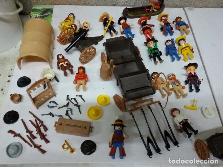 PLAYMOBIL OESTE LOTE CARRUAJE (Juguetes - Playmobil)