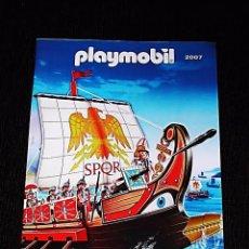 Playmobil: PLAYMOBIL - CATÁLOGO 2007 - FORMATO A4 - 52 PAGINAS. Lote 76979041