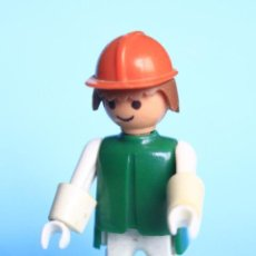Playmobil: PLAYMOBIL-FAMOBIL OBRERO GEOBRA 1974. Lote 77398373