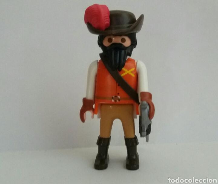 PLAYMOBIL CAPITAN TERCIO ESPAÑOL CONQUISTADOR CONQUISTADORES ESPAÑOLES TERCIOS FLANDES (Juguetes - Playmobil)
