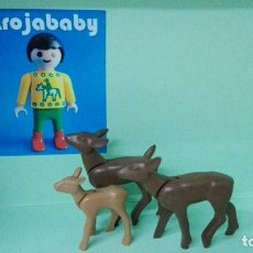 Playmobil: PLAYMOBIL CIERVOS. Lote 80583166