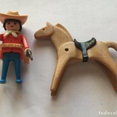 Playmobil: PLAYMOBIL CLICK OESTE VAQUERO GORRO CARTUCHERA CABALLO CABALLO. Lote 81217940