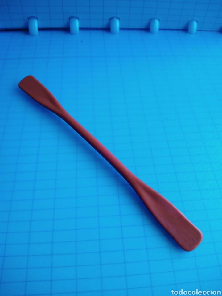 PLAYMOBIL 3466 ANTIGUO REMO DOBLE CANOA ESQUIMALES 3465 PIEZA KAYAK ESQUIMAL REPUESTO PLAYMOVIL (Juguetes - Playmobil)
