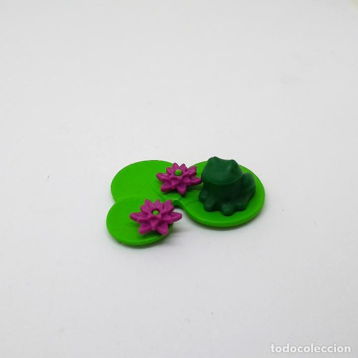 Playmobil Rana Verde Con Flor Loto Para Estanqu Comprar Playmobil