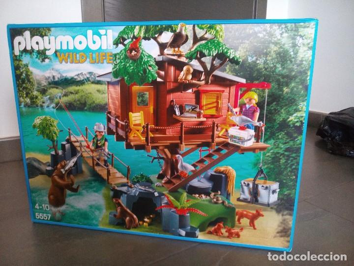 playmobil 5557 casa del rbol guardabosques comprar