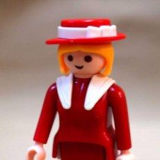 Playmobil: PLAYMOBIL,FIGURA ARTICULADA, MUJER, COLORADO SPRINGS?, GEOBRA 1987. Lote 85029348