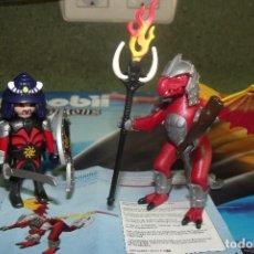 Playmobil: PLAYMOBIL 5463 SAMURAI Y DRAGON DE FUEGO CON LAS INSTRUCCIONES COMPLETO SIN LA BOLSA. Lote 85386792