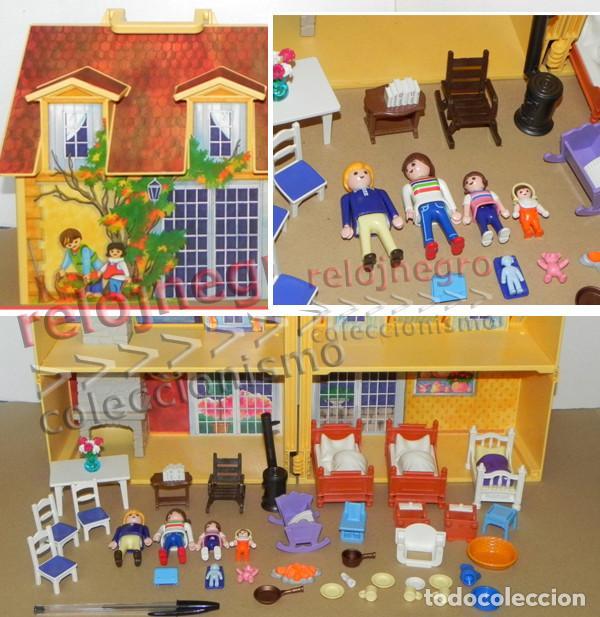Casa malet n de playmobil clic juguete familia comprar for Casa maletin playmobil