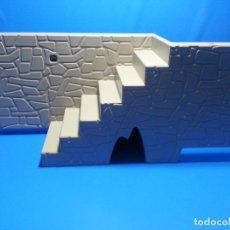 Playmobil: PLAYMOBIL PIEZA ESCALERA PIEDRA CONSTRUCCION MEDIEVAL OESTE PIRATAS DIORAMA PAISAJE PIEZAS. Lote 86190416