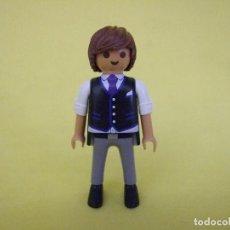 Playmobil: PLAYMOBIL PADRINO DE BODA, NOVIO, INVITADO. Lote 86463212
