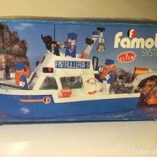 Playmobil: FAMOBIL PLAYMOBIL - PATRULLERA REF. 3539. Lote 87190884