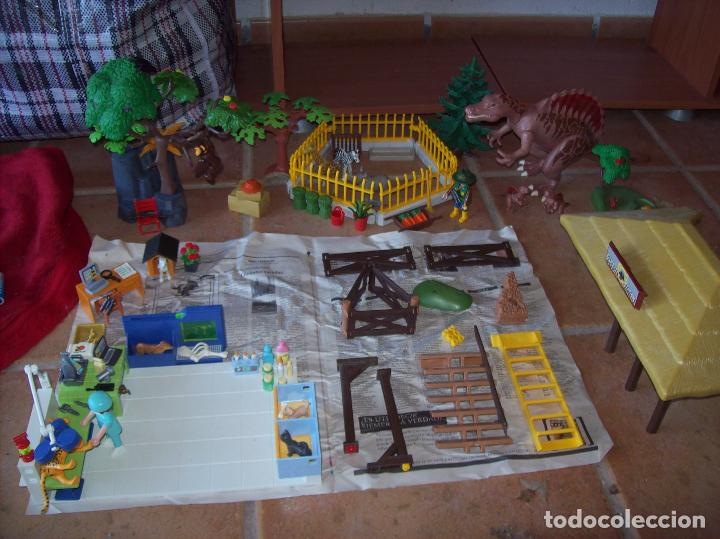 EXCELENTE LOTE PLAYMOBIL OAMBATI STATION. INCOMPLETO.NO INCLUYE CAJA. VER FOTOS. (Juguetes - Playmobil)