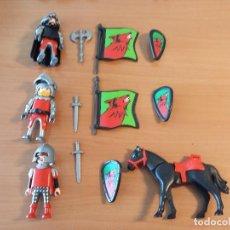 Playmobil: P0001- PLAYMOBIL GUERREROS Y CABALLO. Lote 87510620