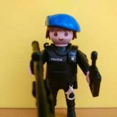 Playmobil: PLAYMOBIL CNP POLICIA NACIONAL GOES PERSONALIZADO - NATIONAL SPANISH POLICE SWAT TEAM CUSTOM. Lote 87900960