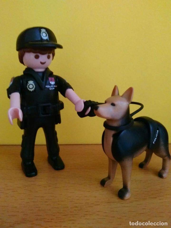 PLAYMOBIL CNP POLICIA NACIONAL GUIAS CANINOS PERSONALIZADO - NATIONAL SPANISH POLICE K-9 CUSTOM (Juguetes - Figuras de Acción - Playmobil)