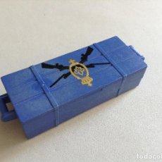 Playmobil: PLAYMOBIL ANTIGUO ARMERO FUERTE SUDISTA NORDISTA UNION CONFEDERADOS OESTE WESTERN PIEZAS . Lote 88140372