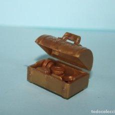 Playmobil: PLAYMOBIL MEDIEVAL COFRE CON ORO. Lote 179206671