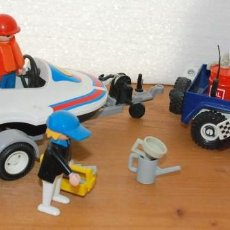 Playmobil: PLAYMOBIL 3198 PLAYA CITY DEPORTE JEEP Y LANCHA DE CARRERAS. Lote 89094680
