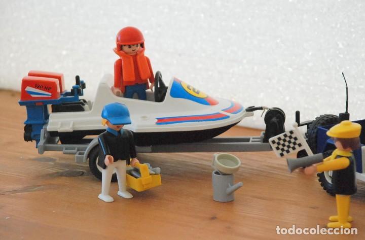 Playmobil: PLAYMOBIL 3198 PLAYA CITY DEPORTE JEEP Y LANCHA DE CARRERAS - Foto 2 - 89094680