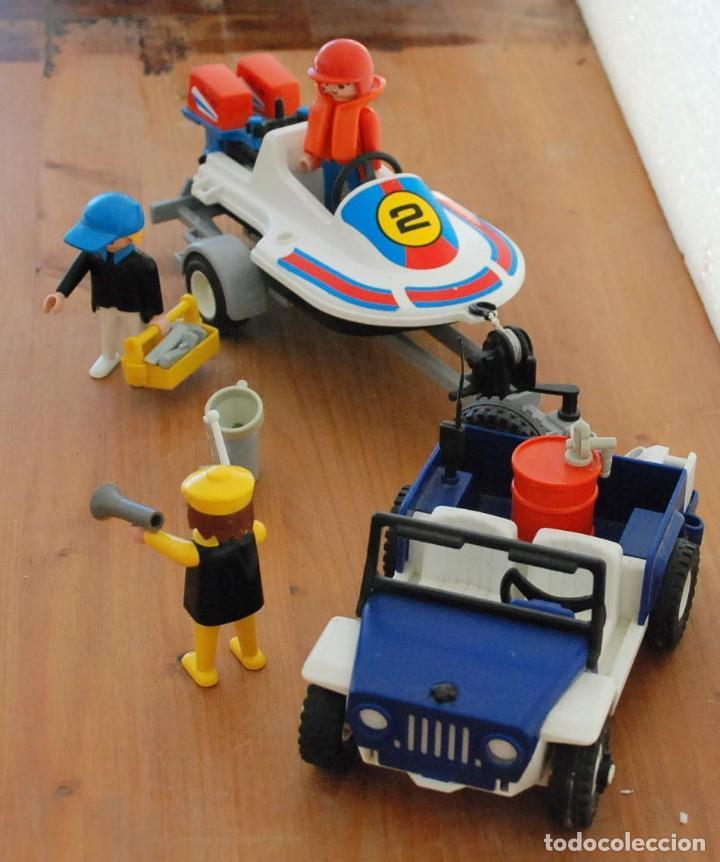 Playmobil: PLAYMOBIL 3198 PLAYA CITY DEPORTE JEEP Y LANCHA DE CARRERAS - Foto 4 - 89094680
