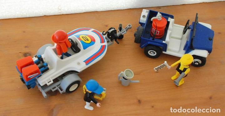 Playmobil: PLAYMOBIL 3198 PLAYA CITY DEPORTE JEEP Y LANCHA DE CARRERAS - Foto 6 - 89094680