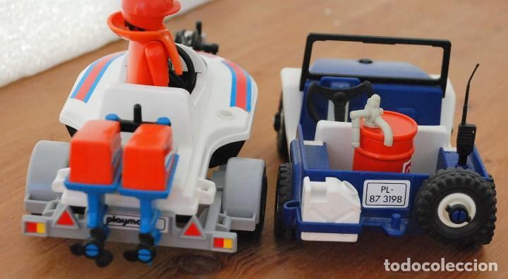 Playmobil: PLAYMOBIL 3198 PLAYA CITY DEPORTE JEEP Y LANCHA DE CARRERAS - Foto 7 - 89094680