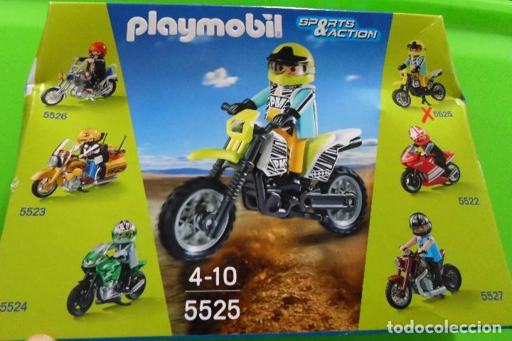 Playmobil moto de cross vendido en venta directa 89097780 - Moto cross playmobil ...